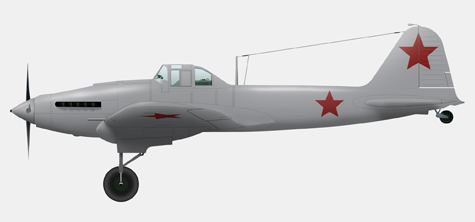 IL-2 AM-38 (1942 year's model, single-seat)
