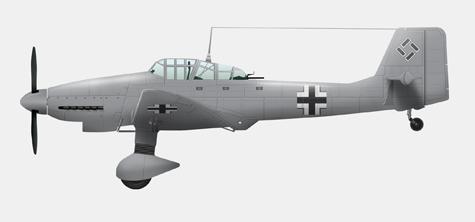 Ju 87 D-3